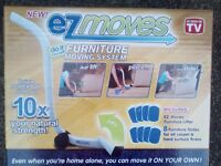 New AS SEEN on TV EZ Moves Furniture Moving System with Lifter Tool & 8 Slides only £13