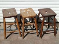 Genuine Vintage 1960s School Science Laboratory Stools Vintage Seating