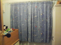 Curtains chldren's two pairs