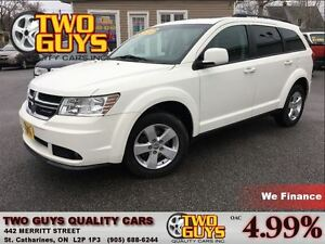 2011 Dodge Journey SXT 7 PASSENGER MOON ROOF NICE MAGS