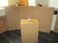 7 large packing boxes unused 26.5x 14x 20 inches Moveing,Christmas or Tidy