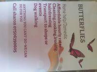 Butterflies home help/domestic