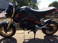 HONDA MSX 125 GROM, WE STOCK 150 USED MOTORCYCLES, BIKES UPTO 10 YEARS OLD BOUGHT FOR CASH.