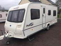 Bailey Pageant 4 Berth 2006 FIXED END BED & MOTER MOVER