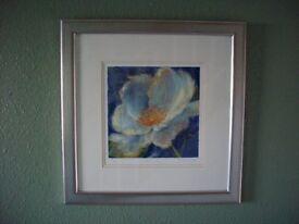 Silk screen picture on paper by NEL WHATMORE entitled MINI HA HA £75 Ono