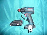 Bosch Professional GDX 18 V-EC Cordless Impact Driver (Bargain price) see description