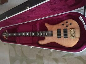 Spector Euro 5 LX with Hiscox Case Bass guitar