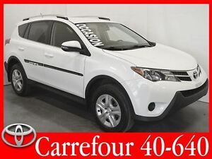 2014 Toyota RAV4 LE AWD Gr.Electrique+Bluetooth+Camera de Recul