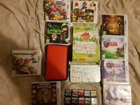 3dsxl and games all great condition