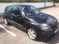2002 RENAULT CLIO 1.2 DYNAMIQUE, NEW CLUTCH, LONG MOT, READY TO DRIVE AWAY