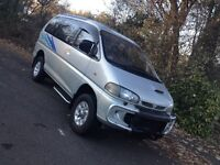 MITSUBISHI DELICA SUPER EXCEED 2.8TD CRYSTAL MOON ROOF 7 SEATER DAY MPV SURF BUS/CAMPER/MAZDA BONGO