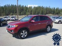Gorgeous Candy Apple Red 2012 Kia Sorento EX All Wheel Drive SUV