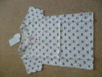 Girls Jo Jo Maman Bebe Floral Top Aged 5-6 Years Brand New With Tags Attached