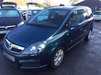 2007/07 VAUXHALL ZAFIRA 1.6 i 16v LIFE FANTASTIC EXAMPLE OF THE POPULAR VERSATILE FAMILY 7 SEATER