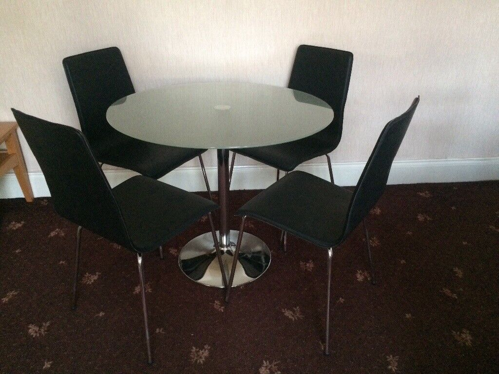 Bistro Dining Table With 4 Chairs