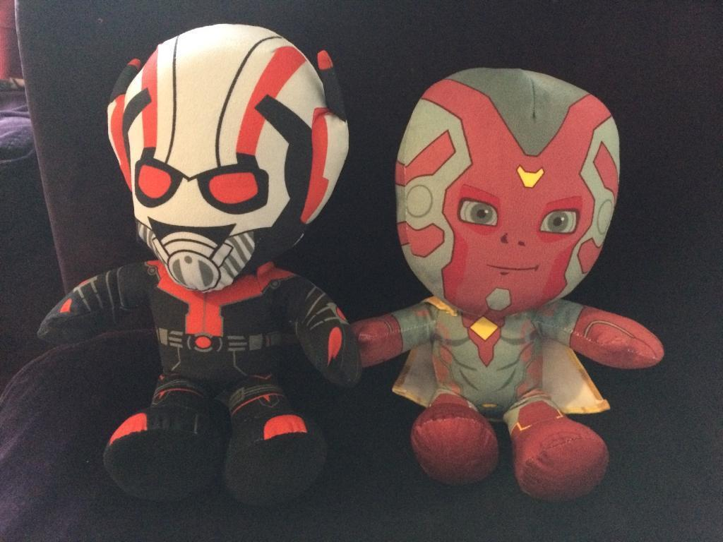 Bnwot marvel Vision and Antman cuddlies collection nr6 Old Catton