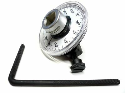 "SWV 620071 Drehwinkelmesser Winkelmessgerät 0-360°  1/2""  Drehwinkelmeßscheibe"