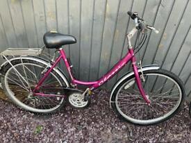Ladies classic mountain bike