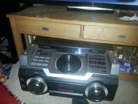 Panasonic 2500watt stereo