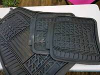Rubber car matts