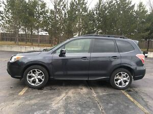 2015 Subaru Forester LIMITED AWD/NAVIGATION/HEATED LEATHER