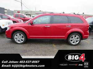 2013 Dodge Journey R/T, AWD, DVD, Leather, 7 seater, PRICE DROP!