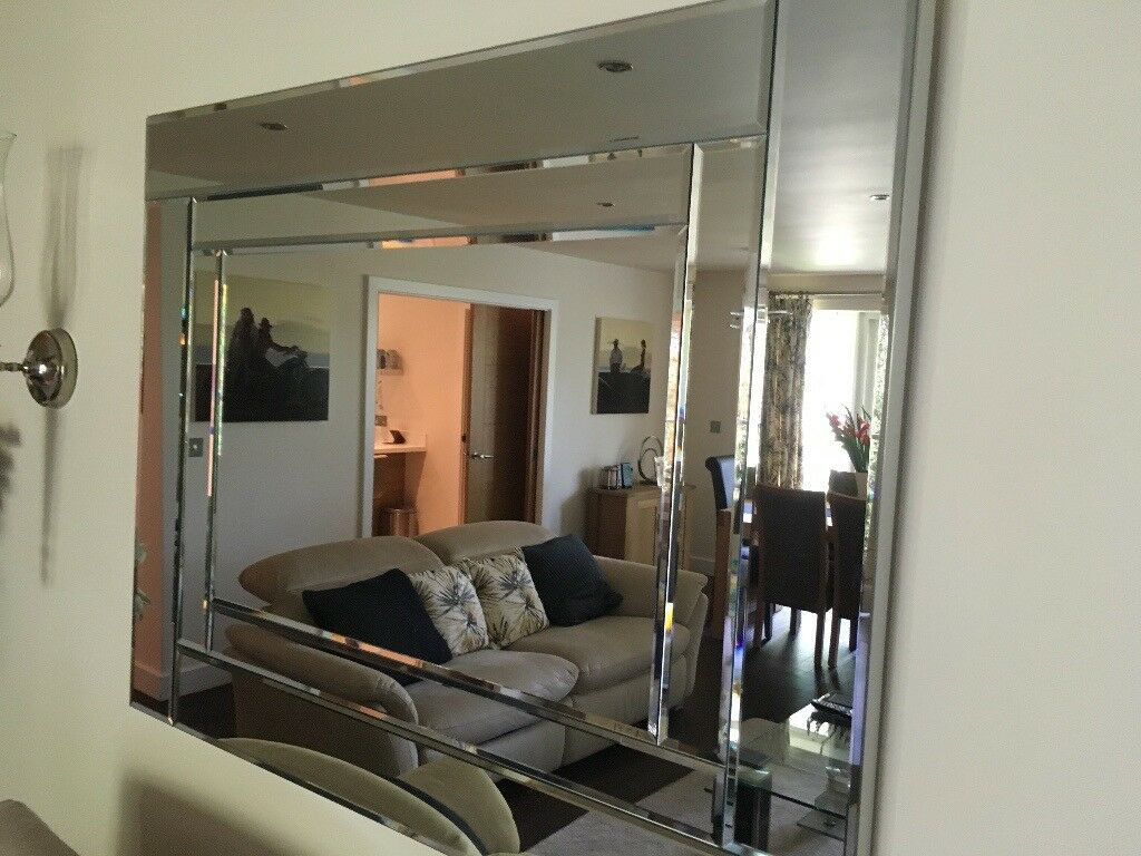 Lovely Large Quality Modern Wall Mirror 80 X 150 Cms 30 60