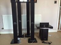 Panasonic Home Cinema / Theater system - DVD and 5.1 Surround sound system - Fully working