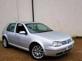 VW GOLF 2.3 VR5 AUTOMATIC - VERY RARE CAR - EXCELLENT CAR - LOW MILEAGE AND FULL SERVICE HISTORY