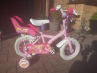 Apollo Cupcake 12inch girls bike (with matching helmet & bell)