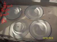 PLATES,BOWLS,TEA SET,TEA POT-CROCKERY FOR SALE