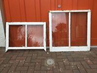 Original timber sash and case windows