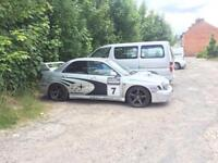 Subaru Impreza sti look a like