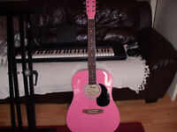 Acoustic Guitar full size by Rikter