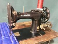 Singer 132K6 walking foot industrial sewing machine for horse rugs repair