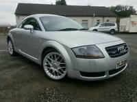 2003 Audi TT 1.8T(225BHP) QUATRO,XENONS, Black heated leather, f/s/h