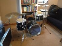 Drum kit and extras.