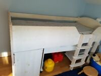 Cabin bed and drawers