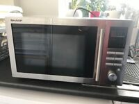 Sharp Microwave Oven with grill and convection