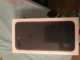 Apple iPhone 7 Plus 128GB Black Brand new in box and unopened on Vodafone