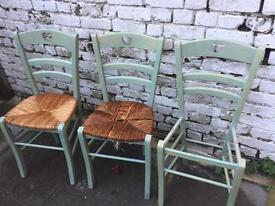 Pine chairs for renovation