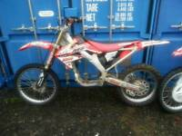 CRF 250 A/F CR 500 Conversion