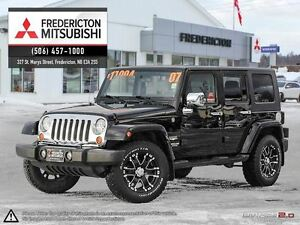 2007 Jeep Wrangler REDUCED! UNLIMITED SAHARA! BIG WHEELS!