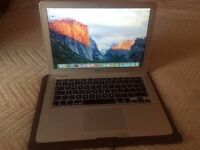 "Macbook Air 13"" Screen with leather case"