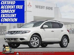 2014 Nissan Murano SV–Accident Free–SiriusXM–AWD–3.5L V6–