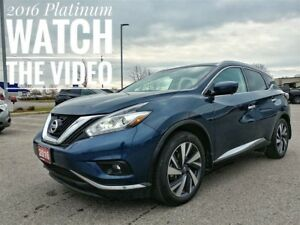 2016 Nissan Murano Platinum Fully Loaded  FREE Delivery