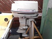 28 Horse Power Johnson Outboard