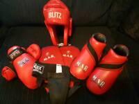Kickboxing/martial arts set