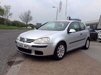VW GOLF 1.9 SE TDI// 1 OWNER// 2005/55 PLATE// FULL MOT/:
