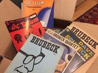 JAZZ SHEET MUSIC BOOKS — LARGE BOX FULL